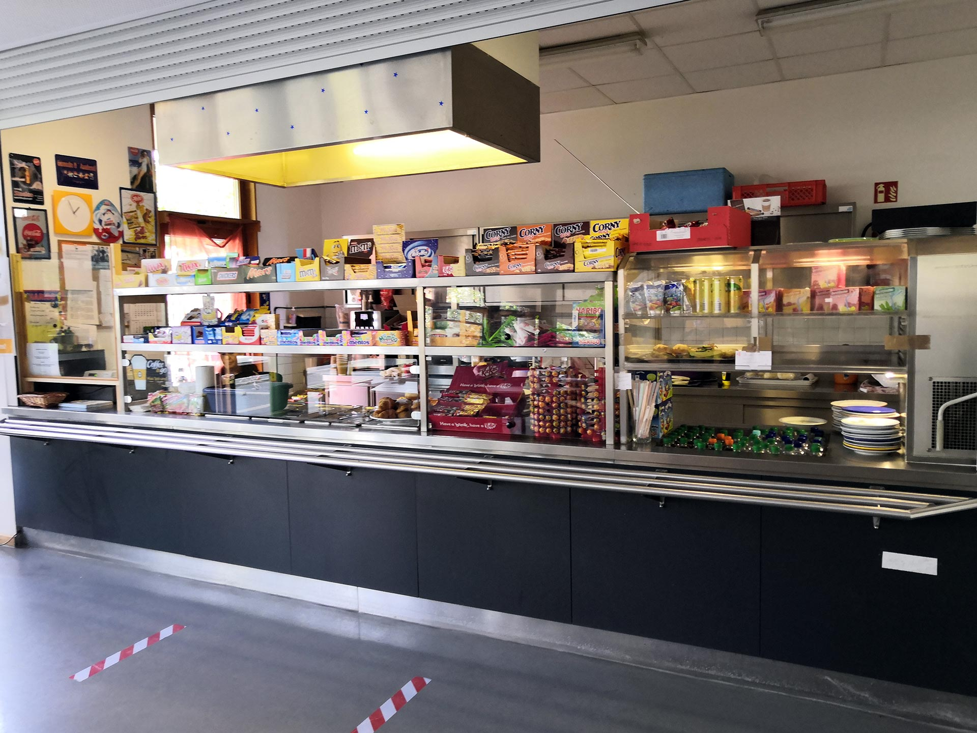 Cafeteria im Hedwig Bollhagen Gymnasium