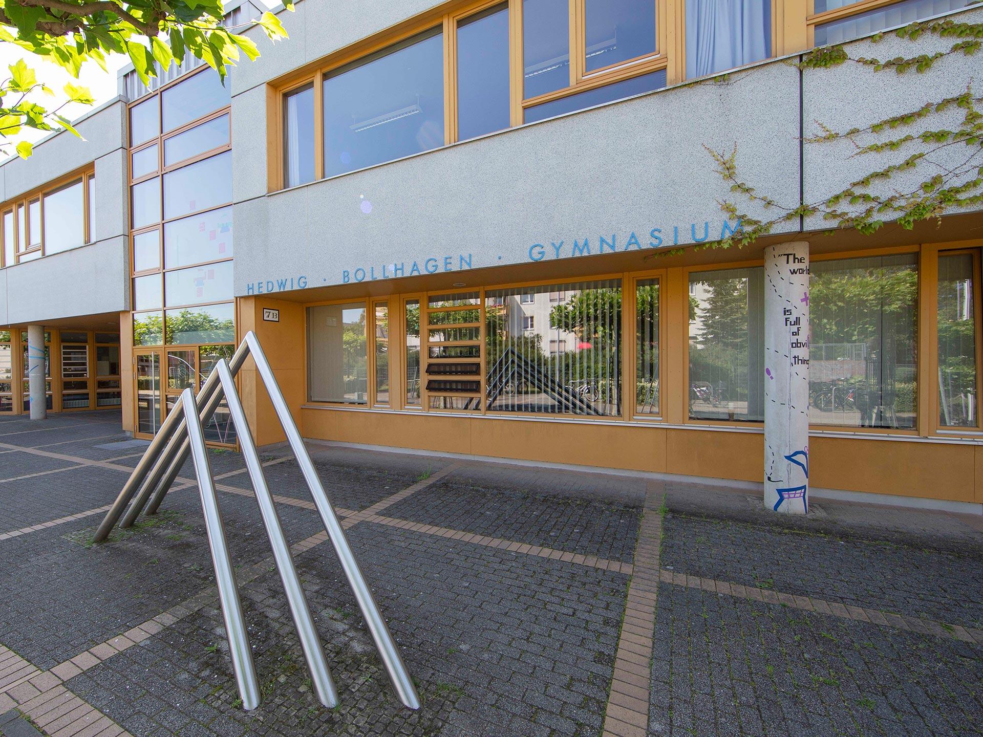 Eingangsbereich zum Hedwig Bollhagen Gymnasium