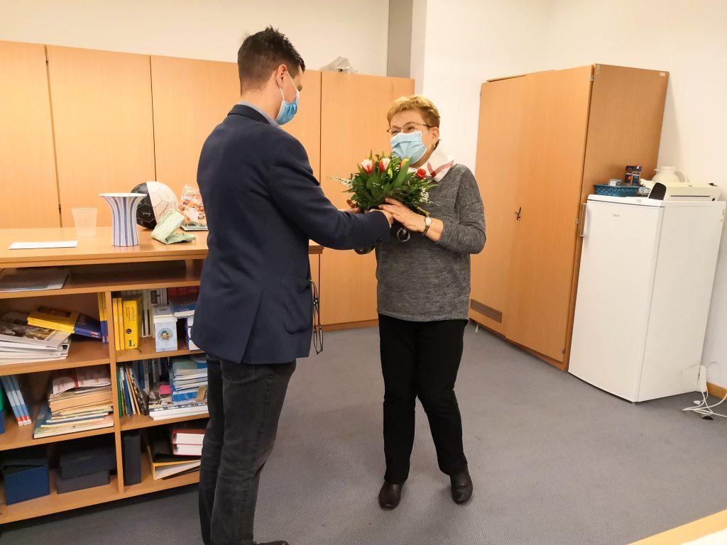 Gratulation! Frau Kuhs